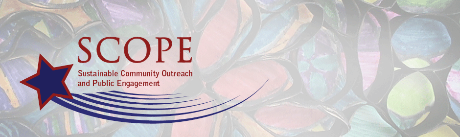 Sustainable Community Outreach and Public Engagement (SCOPE)